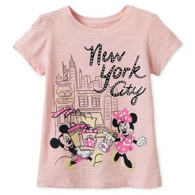 Disney Mickey and Minnie Mouse Shopping T-Shirt fo