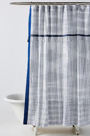 Anthropologie Savon Shower Curtain