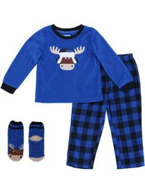 Boys Only Boy's Novelty Long Sleeve Tee and Pants