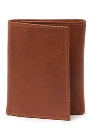 English Laundry Buffalo Leather Tri-Fold Wallet