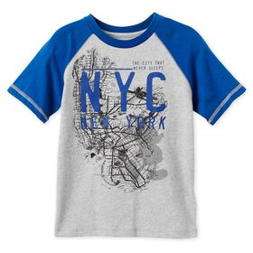 Disney Mickey Mouse NYC Map T-Shirt for Boys – New