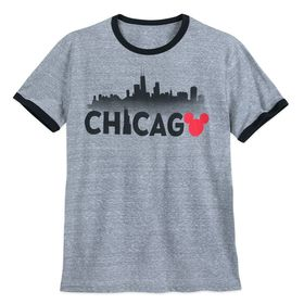 Disney Mickey Mouse Chicago Ringer T-Shirt Shirt f