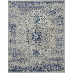 Nourison Tranquil TRA06 Distressed Traditional Are