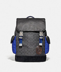 Coach rivington backpack in signature canvas with.