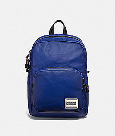 Coach pacer tall backpack with coach patch
