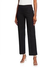 Neiman Marcus Jules Wide Leg Trousers