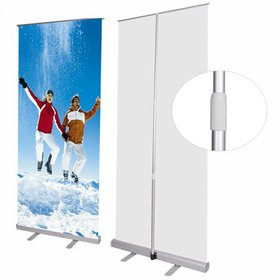 47x78 Rear Projector Screen Banner Stand