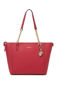 Calvin Klein Marybelle Gifting Leather Tote Bag