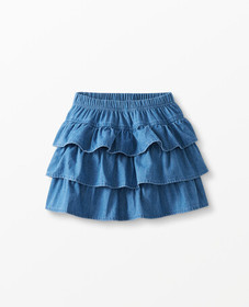 Hanna Andersson Chambray Scooter Skirt