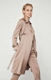 BCBG Belted Trench Coat