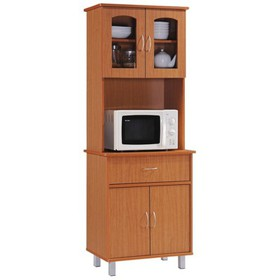 Kitchen Cabinet in Cherry - Hodedah