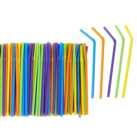 300 Count Bulk Smoothie Straws - Bendy Straws - Co