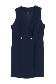 bebe Sleeveless Suiting Dress