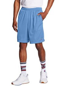 Champion Men's Long Mesh Shorts with Pockets, up t