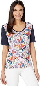 Paul Smith Watercolor Floral T-Shirt