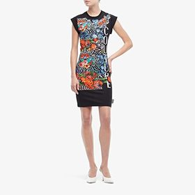 Versace Jeans Couture Optical Flower Print Tee Shi