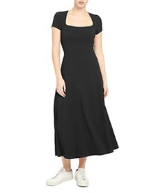 Theory - Sculpture Square-Neck Dress