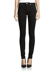 7 For All Mankind The High-Rise Skinny Slim Illusi