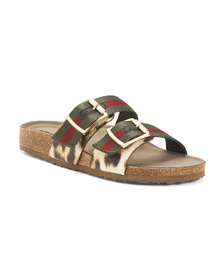 MADDEN GIRL Double Buckle Slides