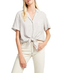 FRENCH CONNECTION - Liache Stripe Button-Up Shirt