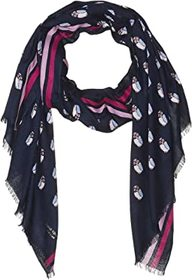 Kate Spade New York Night Owls Oblong Scarf