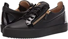 Giuseppe Zanotti May London Textured Low Top Sneak