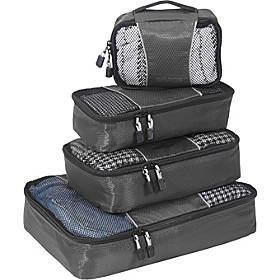 eBags Classic Packing Cubes - 4pc Small/Med Set