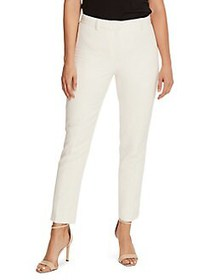Vince Camuto Stretch Ankle Pants PEARL IVORY