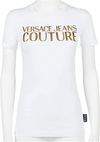 Versace Jeans Couture Short Sleeve Gold Logo T-Shi