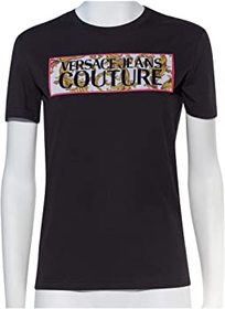 Versace Jeans Couture Short Sleeve Baroque Box Log