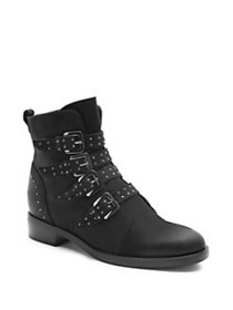 Blondo Elani Waterproof Lace-Up Booties BLACK