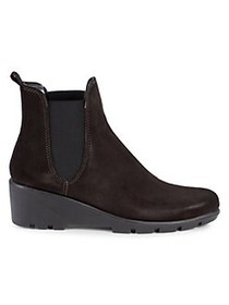 The Flexx Slimmer Leather Wedge Ankle Boots BROWN
