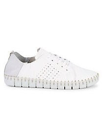 Carvela Comfort Coco Leather Sneakers WHITE