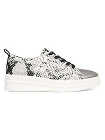 Naturalizer Yarina Leather Sneakers ALABASTER