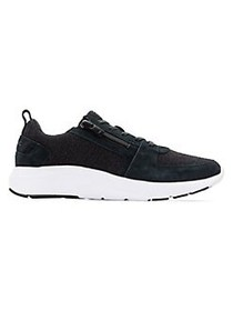 Vionic Delmar Remi Side-Zip Low-Top Sneakers BLACK