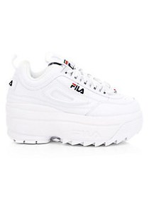 FILA Women's Disruptor II Wedge Premium Sneakers W