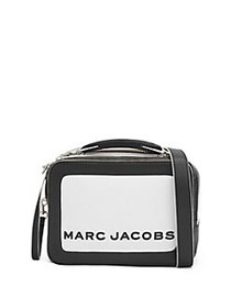 Marc Jacobs The Box 20 Leather Top Handle Bag WHIT