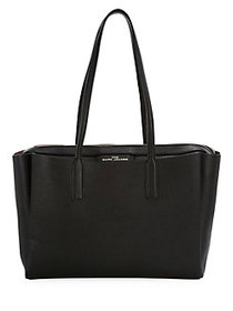Marc Jacobs The Protege Leather Tote BLACK