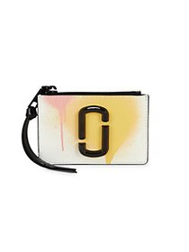 Marc Jacobs The Spray Paint Top Zip Multi Wallet W