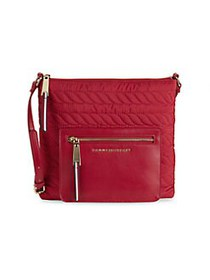 Tommy Hilfiger Clara Quilted Crossbody Bag TOMMY R