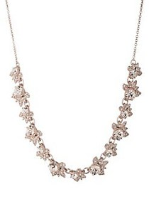 Marchesa Rose Goldtone & Crystal Necklace ROSE GOL