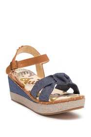 Juicy Couture Alamitos Wedge Sandal (Toddler