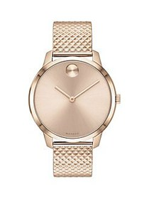 Movado BOLD Ionic-Plated Carnation Goldtone Stainl