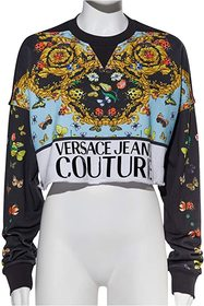 Versace Jeans Couture Lady Bug Print Logo Sweatshi
