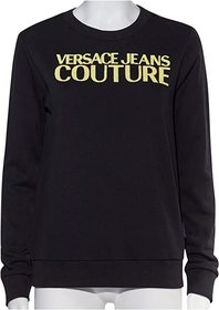 Versace Jeans Couture Shiny Logo Sweatshirt