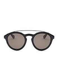 Givenchy 54MM Round Sunglasses BLACK