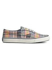 Sperry Striper II CVO Kickback Plaid Canvas Sneake