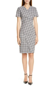 BOSS Dirmala Check Sheath Dress