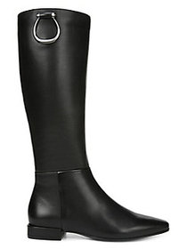 Naturalizer Carella Leather Tall Boots - Wide Calf