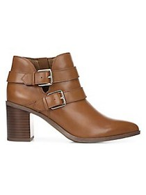 Franco Sarto Buck Ankle Booties COGNAC
